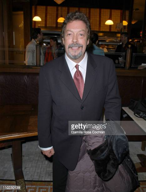 Tim Curry during The Actors' Fund host Together On Broadway After Party at Bond 45 Restaurant in New York City New York United States