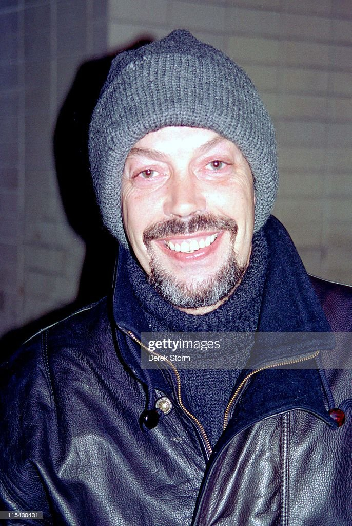 Tim Curry sighting in Lincoln Center - January 10, 1993 : News Photo