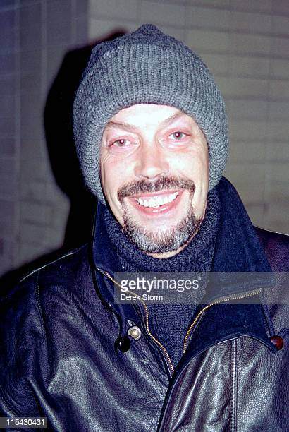 Tim Curry during Tim Curry sighting in Lincoln Center January 10 1993 at Lincoln Center in New York City New York United States