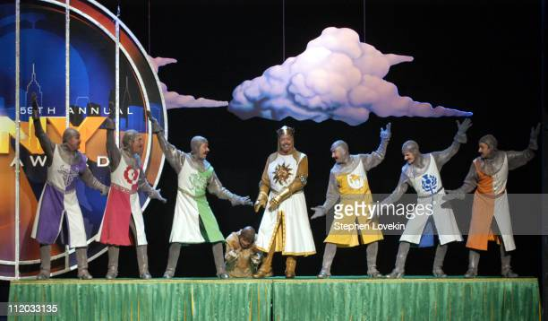 Tim Curry Michael McGrath and the Cast of Monty Python's Spamalot