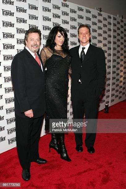 Tim Curry Sara Ramirez and Alan Tudyk attend Conde Nast Traveler 18th Annual Readers Choice Awards at The Metropolitan Museum of Art on October 17...