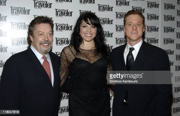 Tim Curry Sara Ramirez and Alan Tudyk during Conde Nast Traveler 18th Annual Readers' Choice Awards Arrivals at The Metropolitan Museum of Art in New...