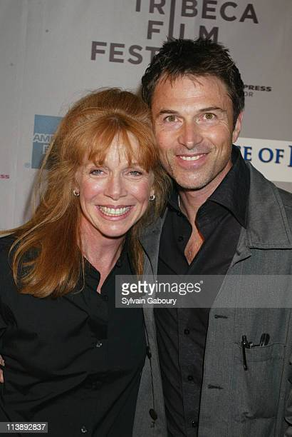 Tim Daly Amy Van Nostrand during Tribeca Film Festival screening of 'House of D' at Tribeca Performing Arts Center in New York New York United States