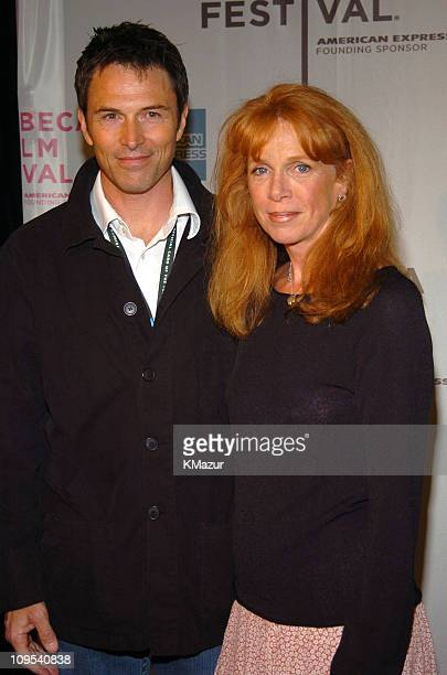 Tim Daly and Amy Van Nostrand during 3rd Annual Tribeca Film Festival 'Raising Helen' Red Carpet at Tribeca Performing Arts Center in New York City...