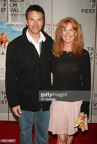 Tim Daly and Amy Van Nostrand during 3rd Annual Tribeca Film Festival Raising Helen Red Carpet at Tribeca Performing Arts Center in New York City New...