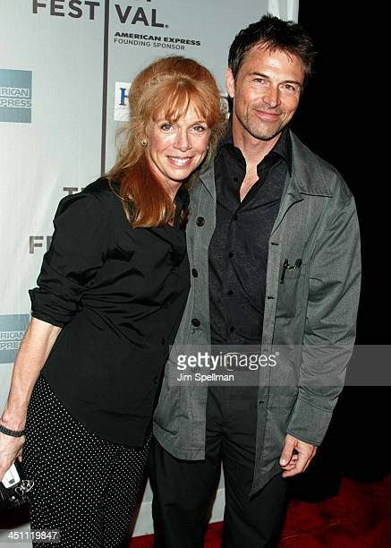 Tim Daly and Amy Van Nostrand during 3rd Annual Tribeca Film Festival House of D Premiere at Tribeca Performing Arts Center in New York City New York...