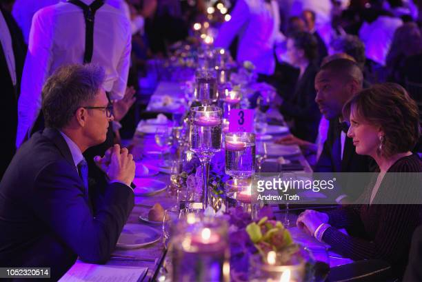 Tim Daly and Anne Sweeney attend the 2018 Princess Grace Awards Gala at Cipriani 25 Broadway on October 16 2018 in New York City