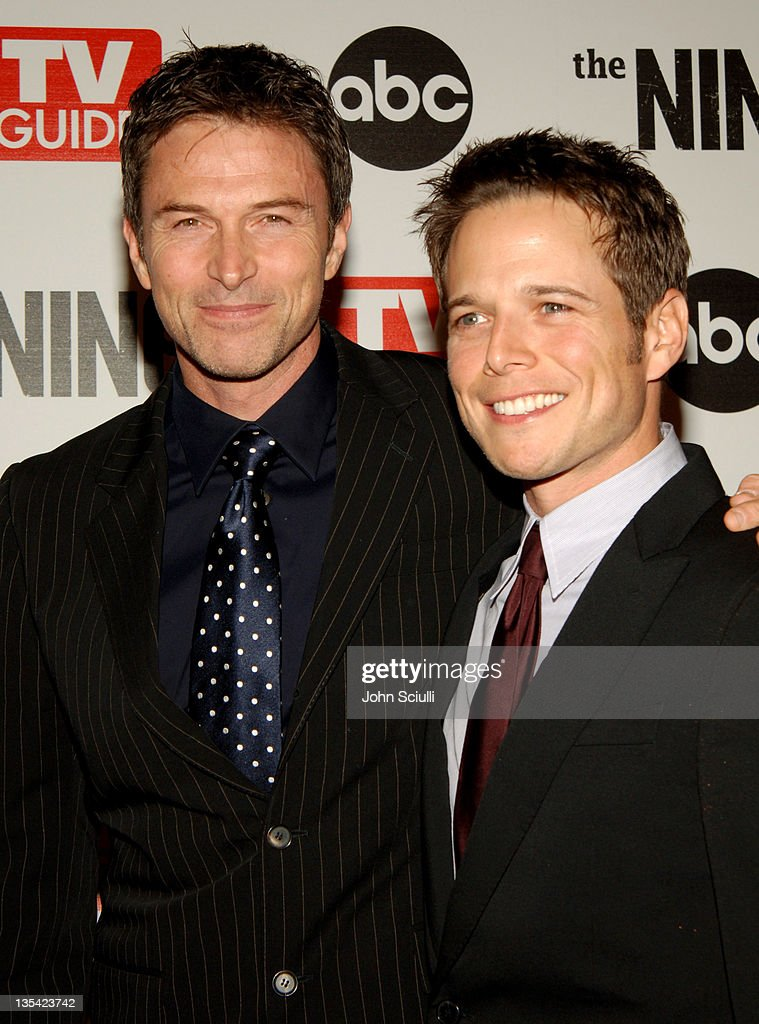 Tim Daly And Scott Wolf During ABC TV Guide Warner Bros Television Present