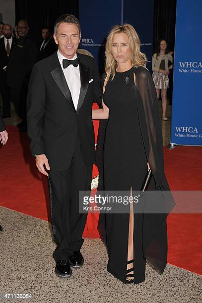Tim Daly and Tea Leoni attend the 101st Annual White House Correspondents' Association Dinner at the Washington Hilton on April 25 2015 in Washington...