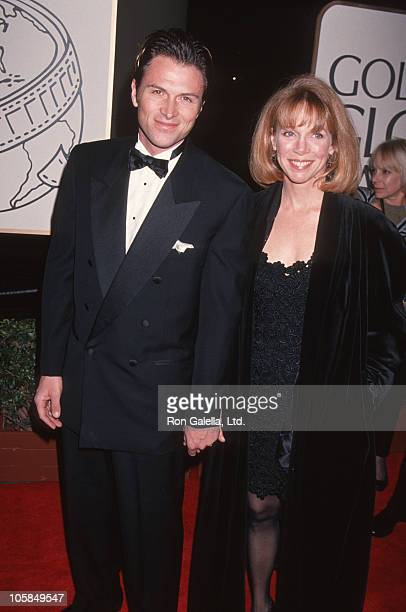 Tim Daly and wife Amy Van Nostrand during 51st Annual Golden Globe Awards at Beverly Hilton Hotel in Beverly Hills California United States