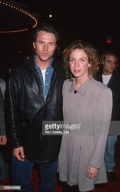 Tim Daly and wife Amy Van Nostrand during 'Interview With A Vampire' Los Angeles Premiere at Manns Village Theater in Westwood California United...