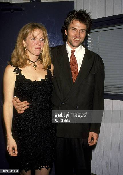 Tim Daly and Wife Amy Van Nostrand during Opening of 'The Colorado Catechism' at Coast Playhouse Theater in Los Angeles California United States