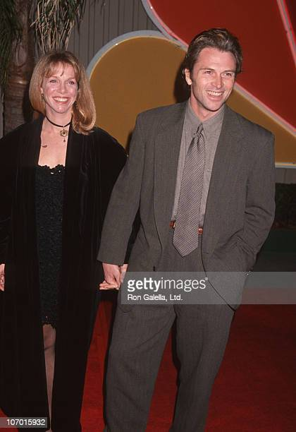 Tim Daly and wife Amy Van Nostrand during TV Taping of 'Golden Globe Awards 50th Anniversary' at NBC Studios Stage 9 in Burbank California United...