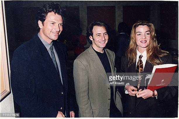 Tim Daly Ari Gross Claudia Christian during 1992 ShoWest in Las Vegas Nevada United States