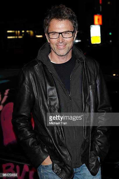 Tim Daly arrives to the Los Angeles premiere of 'Exit Through The Gift Shop' held at the Los Angeles Theatre on April 12 2010 in Los Angeles...