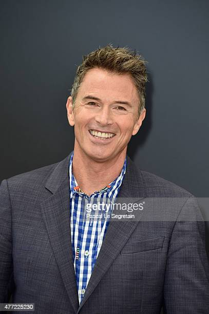 Tim Daly attends a photocall for the 'Madam Secretary' TV series on June 15 2015 in MonteCarlo Monaco