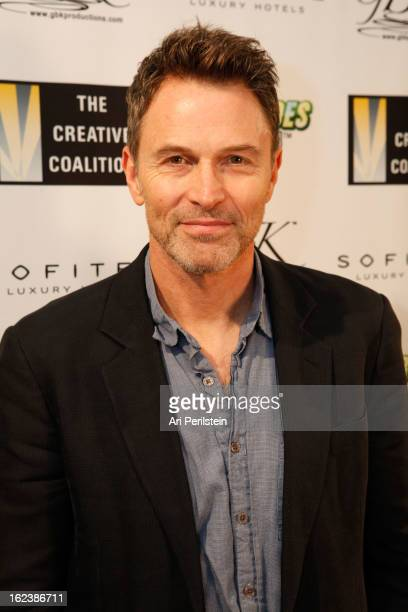 Tim Daly attends The Creative Coalition's Charades for Good Day 1 Oscar Week 2013 at Sofitel Hotel on February 22 2013 in Los Angeles California