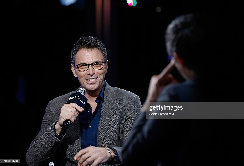 Tim Daly discusses 'The Daly Show' during AOL Build at AOL Studios In New York on November 12, 2015 in New York City.