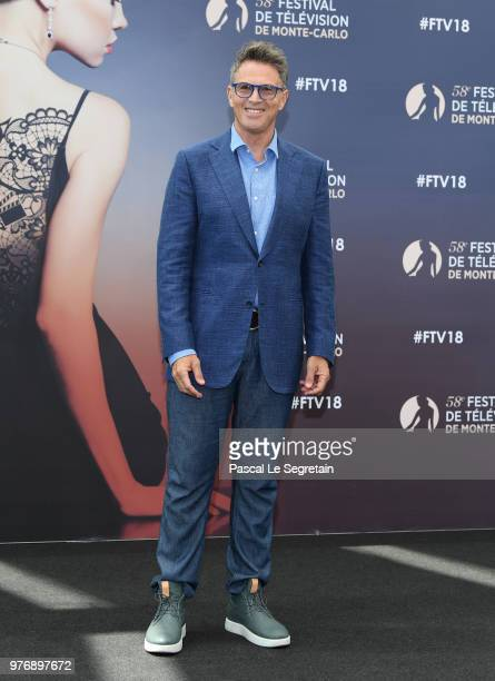 Tim Daly from the serie 'Madam Secretary' attends a photocall during the 58th Monte Carlo TV Festival on June 17 2018 in MonteCarlo Monaco