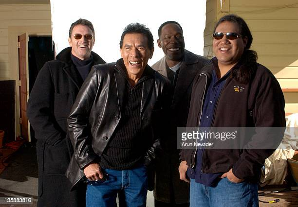 Tim Daly producer Wes Studi James McDaniel and Chris Eyre director *Exclusive*