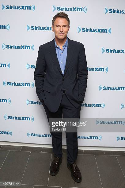 Tim Daly visits the SiriusXM Studios on September 30 2015 in New York City