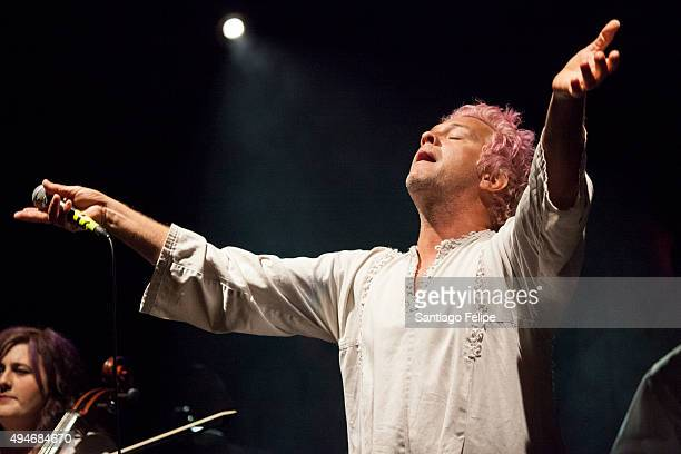 Tim DeLaughter of the Polyphonic Spree performs onstage at Highline Ballroom on October 27 2015 in New York City