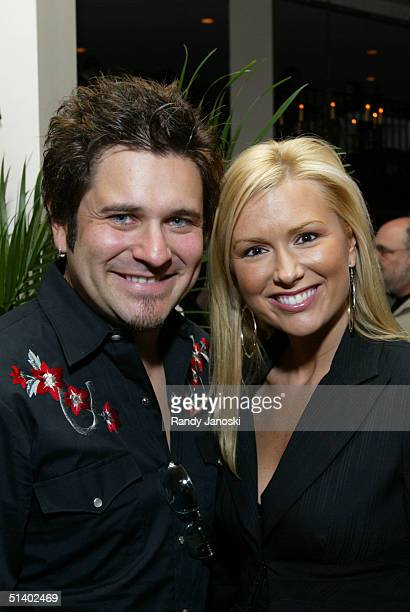 Tim DeMarcus of Rascal Flatts with wife Allison attend the after party to celebrate the premiere of Tim McGraw 's 'Friday Night Lights' held at...