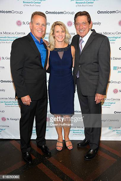 Tim Devine Sonya Devine and Joe Namath attend An Evening Honoring Joe Namath at The Plaza Hotel on October 20 2016 in New York City