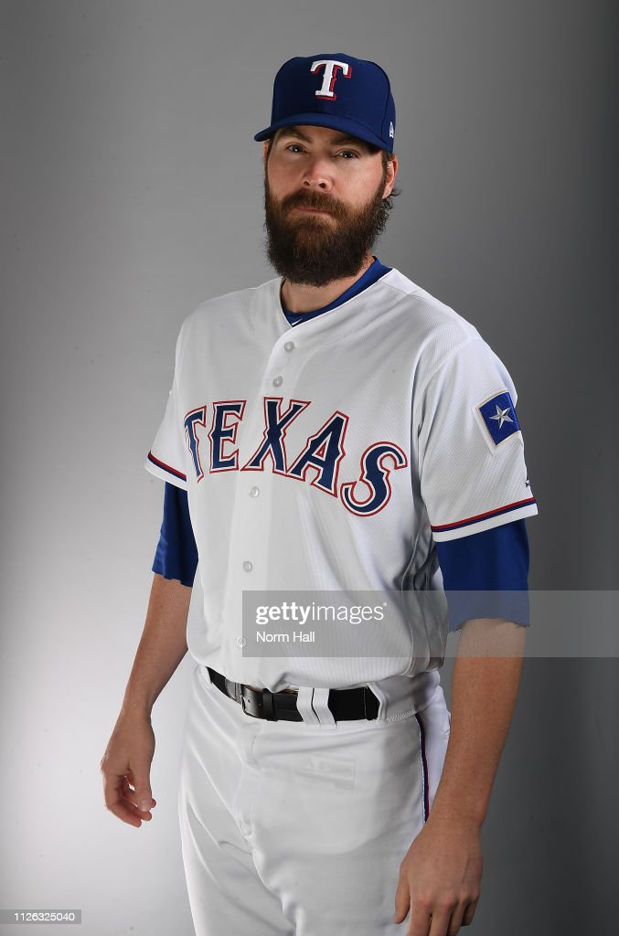 AZ: Texas Rangers Photo Day