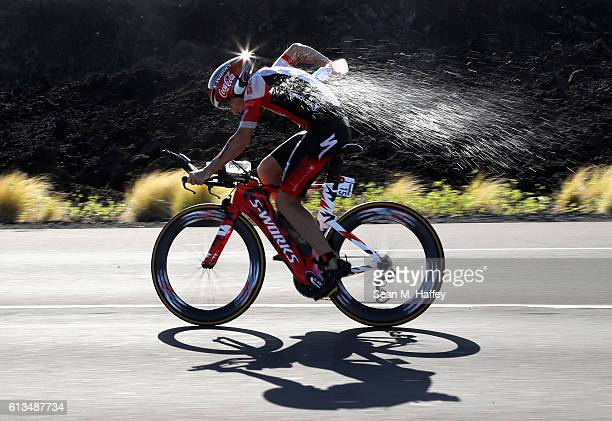 Tim Don of Great Britain competes in the 2016 IRONMAN World Championship triathlon on October 8 2016 in Kailua Kona Hawaii