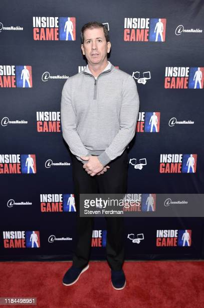 """Tim Donaghy attends the New York premiere of """"Inside Game"""" at Metrograph on October 30, 2019 in New York City."""