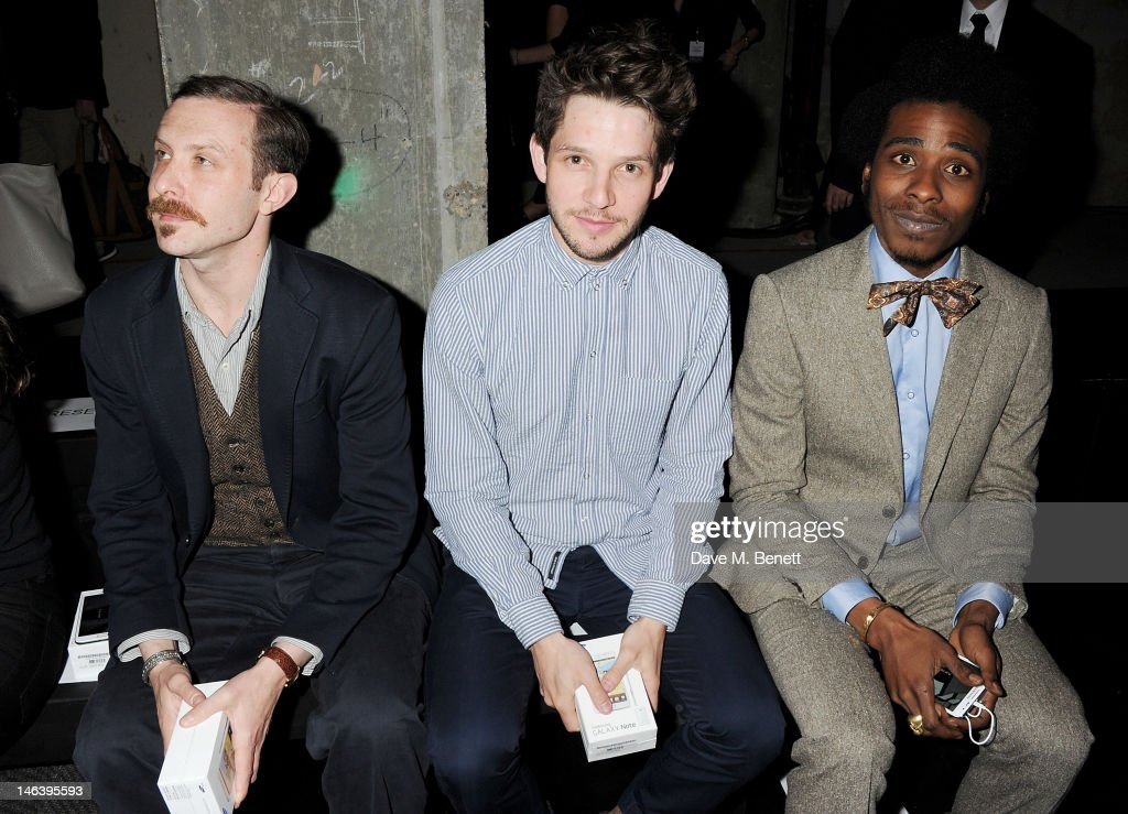 LONDON COLLECTIONS: MEN - Spencer Hart S/S 2013 - Runway and Front Row : News Photo
