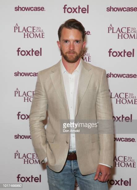 Tim Draxl attends the premiere screening event for A Place To Call Home The Final Chapter at State Theatre on August 16 2018 in Sydney Australia