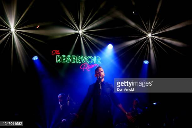Tim Draxl performs during live recording on June 06, 2020 in Sydney, Australia. The Reservoir Room is live-stream performances of theatre, live...