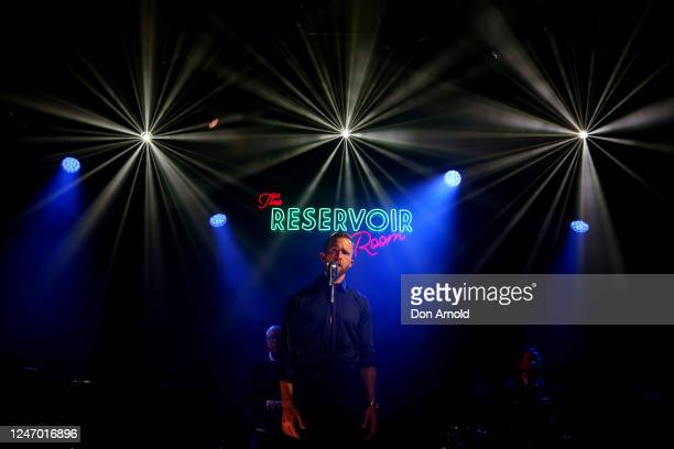 Tim Draxl performs during live recording on June 06 2020 in Sydney Australia The Reservoir Room is livestream performances of theatre live music...