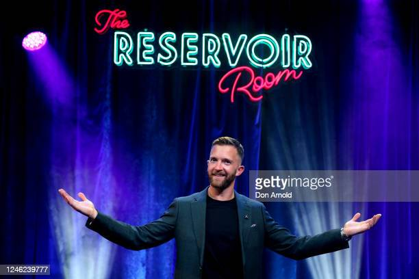 Tim Draxl poses post show on June 05 2020 in Sydney Australia The Reservoir Room is livestream performances of theatre live music cabaret and drag...