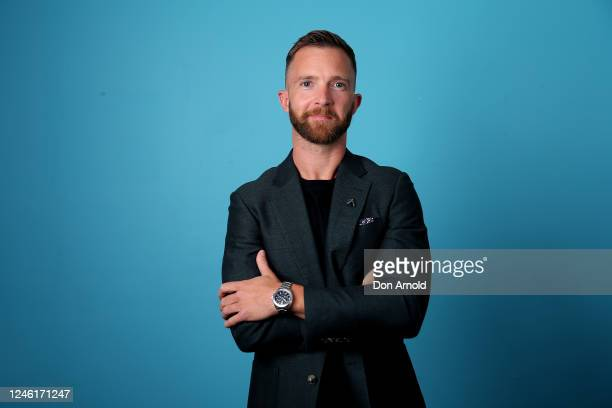 Tim Draxl poses preshow on June 05 2020 in Sydney Australia The Reservoir Room is livestream performances of theatre live music cabaret and drag...