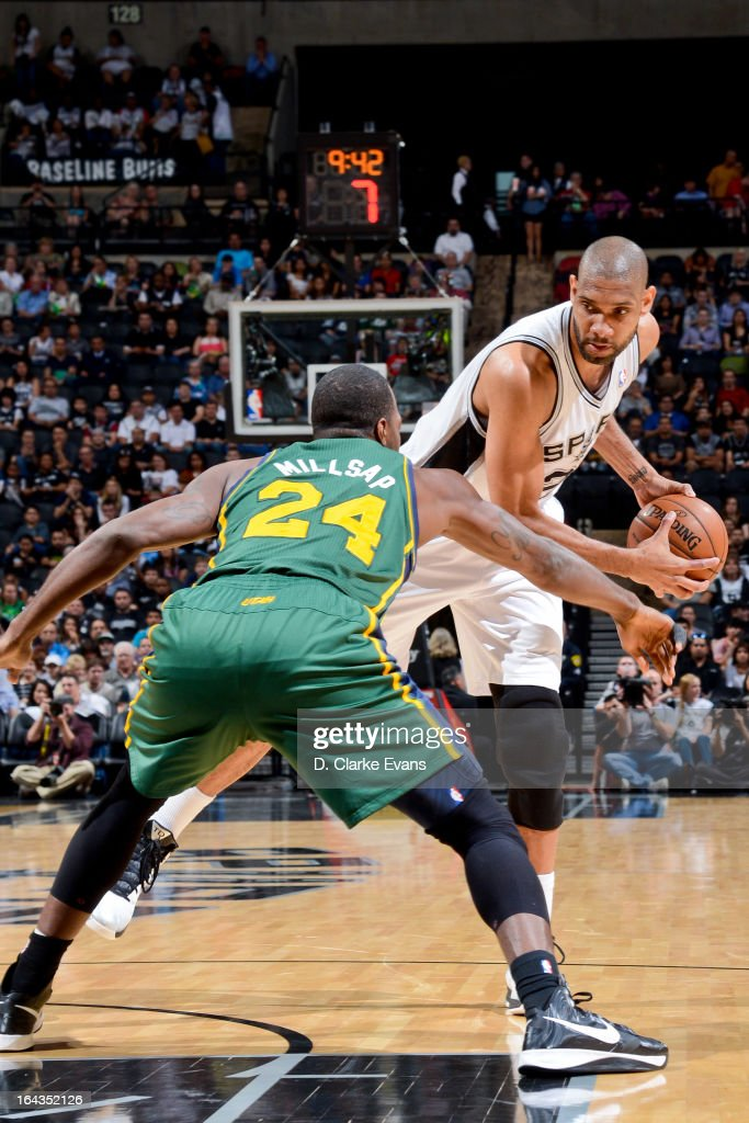 Utah Jazz v San Antonio Spurs