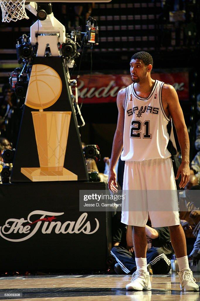 Detroit Pistons v San Antonio Spurs - Finals Game 2 : News Photo