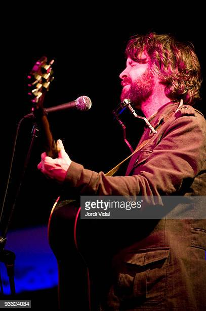 Tim Easton performs on stage at Vilassar De Mar on November 17 2009 in Barcelona Spain