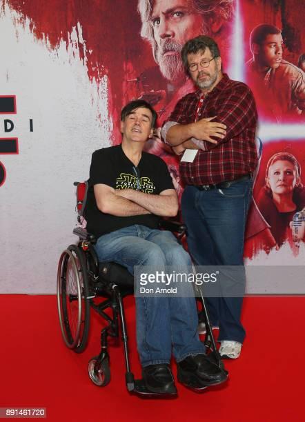 Tim Ferguson attends Star Wars The Last Jedi Sydney Screening Event on December 13 2017 in Sydney Australia