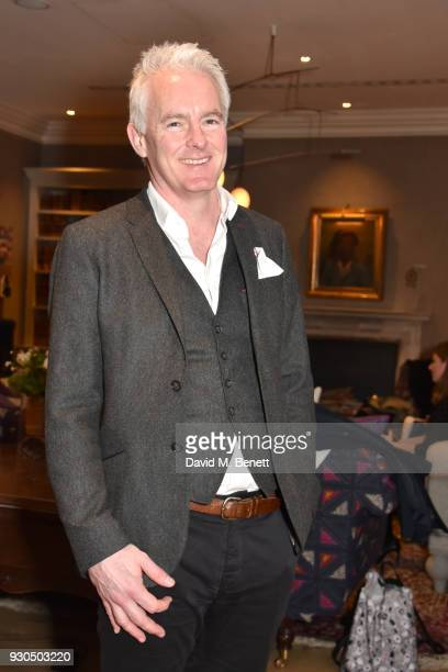 Tim Firth attends the press matinee after party for Brief Encounter at The Haymarket Hotel on March 11 2018 in London England