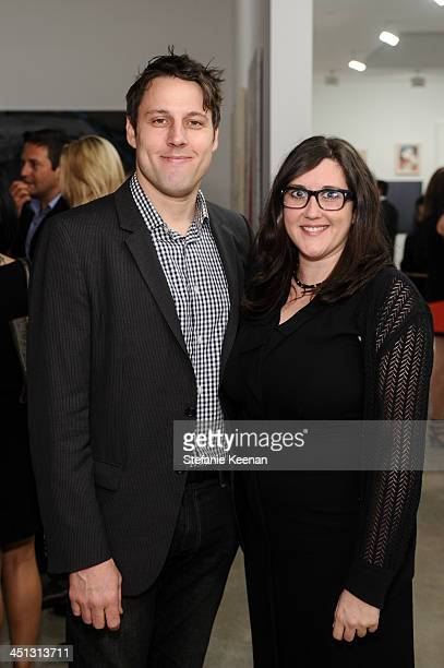 Tim Fleming and Alex Couri attend The Rema Hort Mann Foundation LA Artist Initiative Benefit Auction on November 21 2013 in Los Angeles California