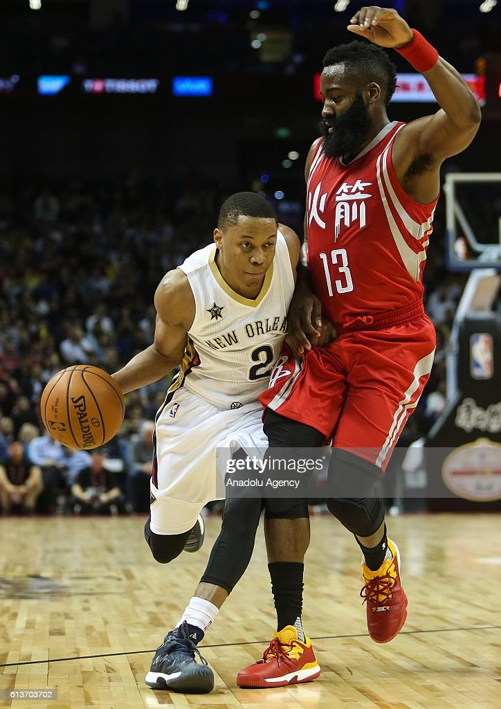 New Orleans Pelicans v Houston Rockets: 2016-17 NBA Global Games : News Photo