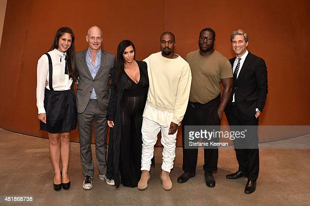 Tim Geary Michelle Grey Kim Kardashian Kayne West Steve McQueen LACMA Director and CEO Michael Govan attend LACMA Director's Conversation With Steve...