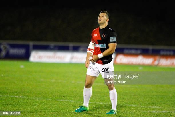 Tim Giresse of Oyonnax before the Pro D2 match between Massy and Oyonnax on November 9 2018 in Massy France
