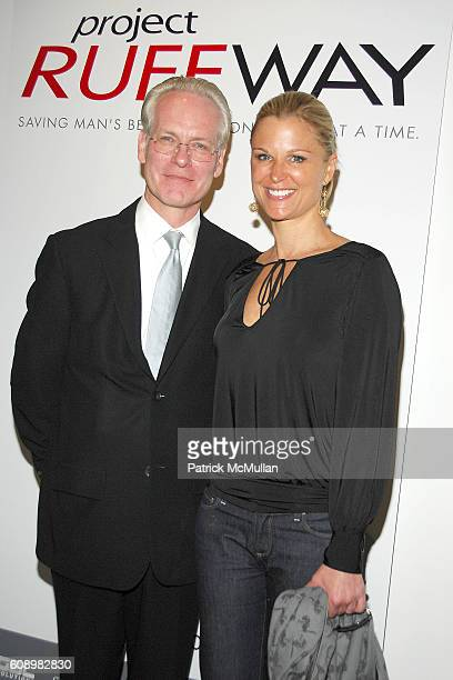 Tim Gunn and Juliet Huddy attend PROJECT RUFFWAY Fashion Show to Benefit STRAY FROM THE HEART at 650 Sixth Avenue on May 21 2007 in New York City