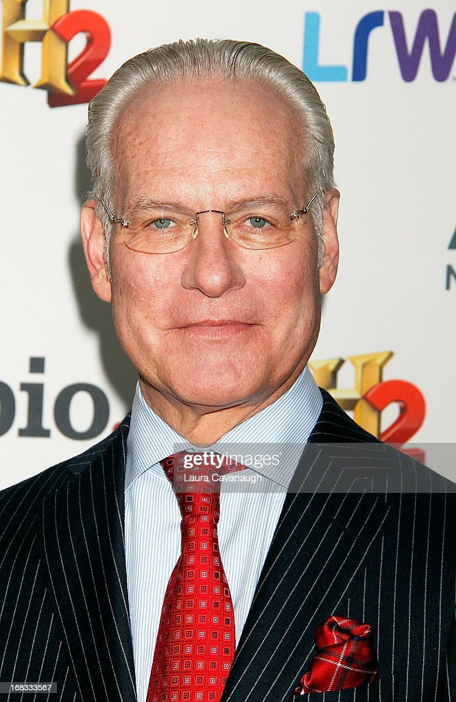 Tim Gunn attends A&E Networks 2013 Upfront at Lincoln Center on May 8, 2013 in New York City.