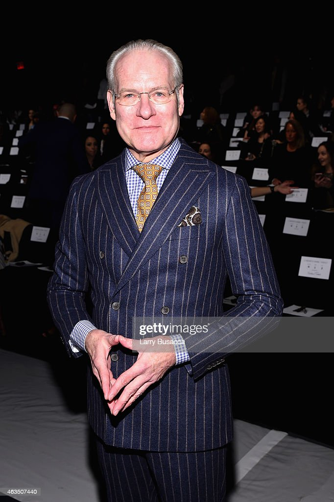Carmen Marc Valvo - Front Row - Mercedes-Benz Fashion Week Fall 2015