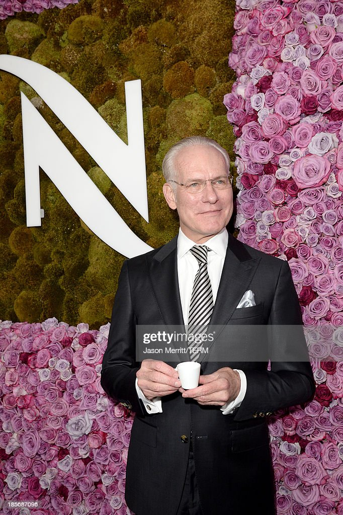 Tim Gunn celebrates the opening of the new Nespresso Beverly Hills Flagship boutique on October 23, 2013 in Beverly Hills, California. The 7,500 square foot space offers guests the ultimate coffee experience.